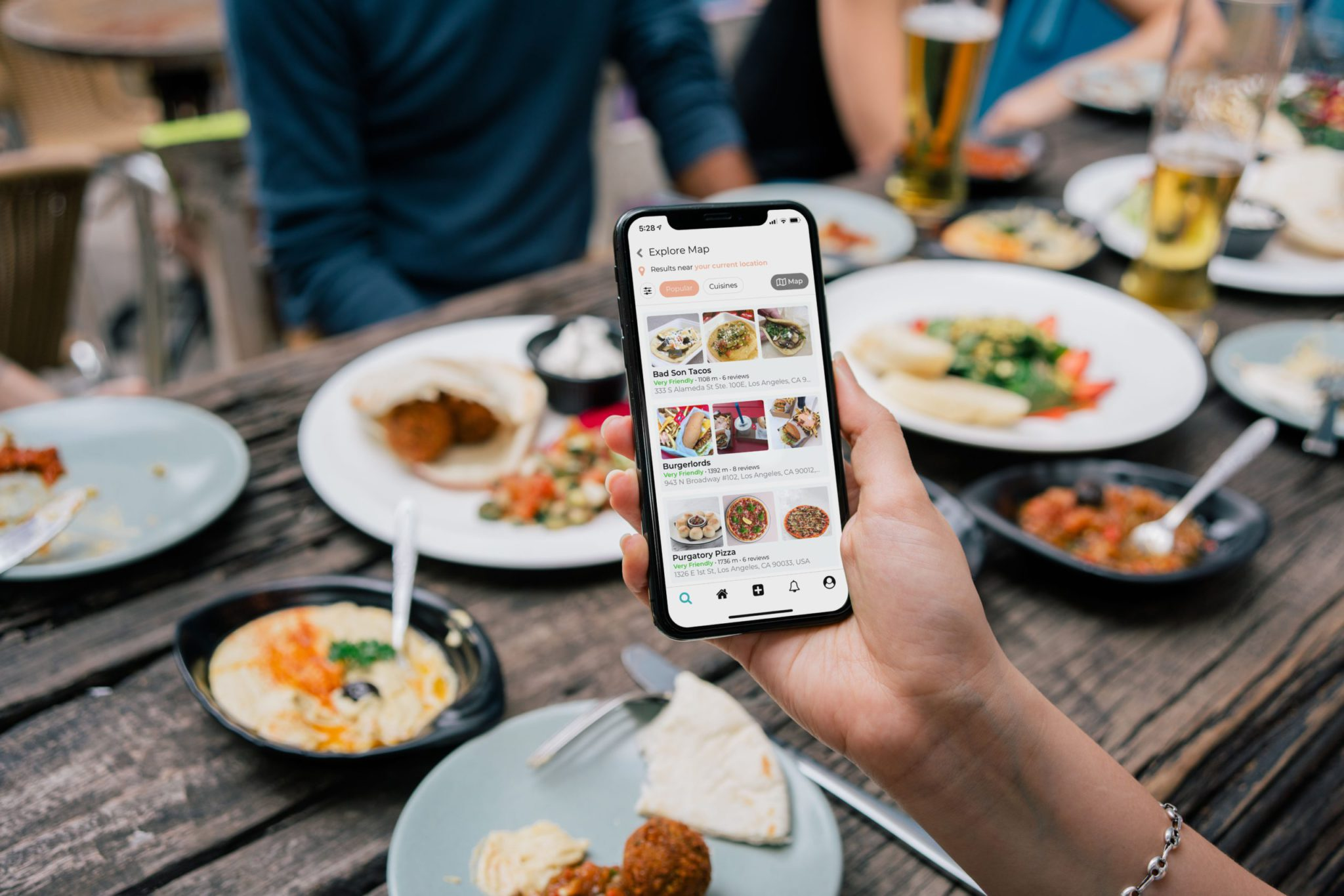 Contactless dine-in-order-and-pay