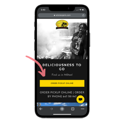 customers can place takeout or pickup orders directly from a restaurants website when using an orderup digital menu