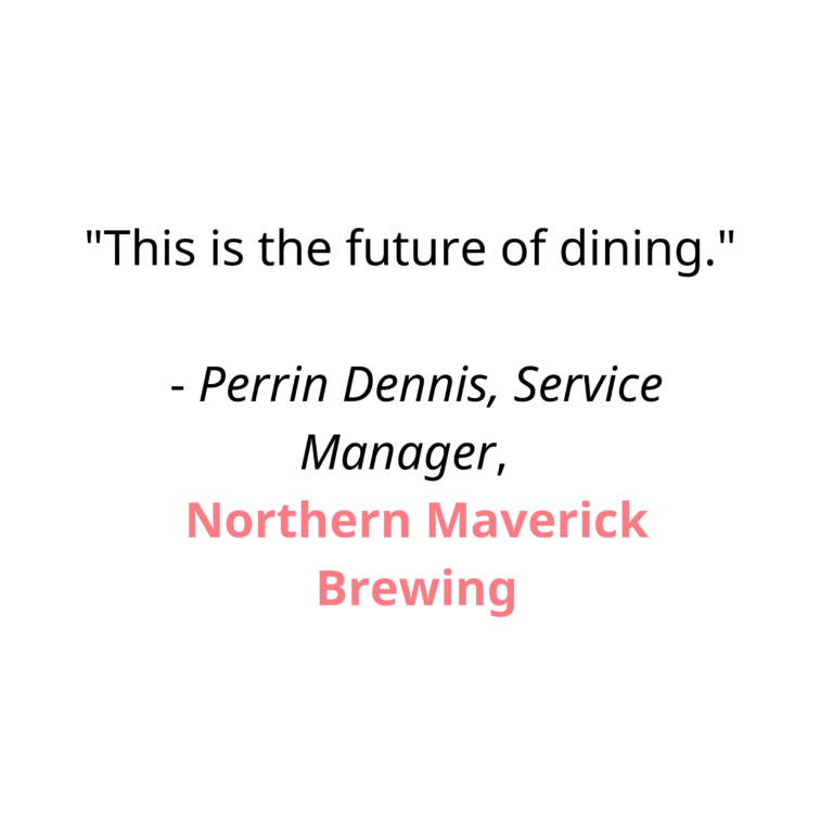 This is the future of dining.